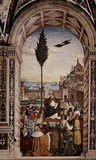 Pintoricchio (Fresco cycle on the life and deeds of Enea Silvio Piccolomini, Pope Pius II in the Ca Masterprint
