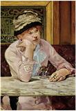 Edouard Manet (Plum) Art Poster Print Poster