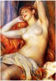 Pierre-Auguste Renoir (Sleeping Baigneuse) Art Poster Print Print