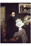 Edouard Manet (Portrait of Émile Zola) Art Poster Print Prints