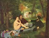 Edouard Manet (Breakfast) Art Poster Print Masterprint
