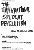 SDS Leaflet (International Student Revolution) Art Poster Print Prints