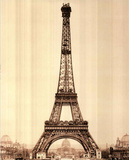 Eiffel Tower in Paris France Art Print POSTER quality Masterprint