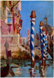 Edouard Manet (Canale Grande in Venice) Art Poster Print Posters