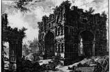 Giovanni Battista Piranesi (The Janus arc (Janus Quadrifrons)) Art Poster Print Masterprint