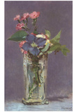 Edouard Manet (Still Life with Flowers) Art Poster Print Photo