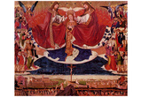 Enguerrand Charonton (Marie coronation, Altar to the Charterhouse of Villeneuve-les-Avignon) Art Po Prints