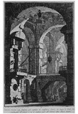 "Giovanni Battista Piranesi (To follow ""The first part of the architectures and perspectives,"" Table Photo"