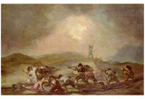 Francisco de Goya y Lucientes (Episode from the Spanish War of Independence) Art Poster Print Photo