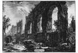 Giovanni Battista Piranesi (Ruins of the aqueduct of Nero) Art Poster Print Prints