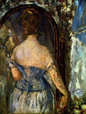 Edouard Manet (Before the mirror) Art Poster Print Masterprint