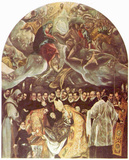 El Greco (Burial of Count Orgaz) Art Poster Print Masterprint