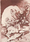 Francisco de Goya y Lucientes (Witches Sabbath) Art Poster Print Masterprint
