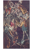 El Greco (Adoration of the Shepherds) Art Poster Print Photo