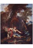 Francois Lemoyne (Narcissus) Art Poster Print Posters