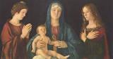 Giovanni Bellini (Madonna and two Saints) Art Poster Print Masterprint