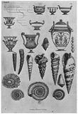 Giovanni Battista Piranesi Seashell and Urn Engravings Sketch Poster Print Posters
