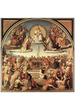 Friedrich Overbeck (The Triumph of Religion in the arts) Art Poster Print Print