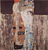 Gustav Klimt (Three Ages of Women) Art Poster Print Masterprint