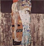 Gustav Klimt (Three Ages of Women) Art Poster Print Masterprint