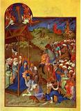 Hennequin and Herman von) Limburg brothers (Pol (Très Riches Heures du Duc Jean de Berry (book of h Masterprint