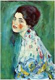 Gustav Klimt (Portrait of a Lady) Art Poster Print Posters