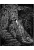 "Gustave Doré (Illustration to Perrault ""fairytale"") Art Poster Print Print"