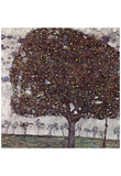 Gustav Klimt (Apple Tree 2) Art Poster Print Print