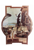 Gustav Klimt (Vienna Burgtheatre, Court Theatre) Art Poster Print Poster