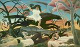 Henri Rousseau (The war) Art Poster Print Masterprint