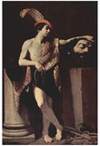 Guido Reni (David with the head Goliaths) Art Poster Print Posters
