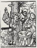 """Hans Sebald Beham (Sin representations,"""" Gambling) Art Poster Print Masterprint"""