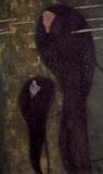 Gustav Klimt (Water Nymphs, Nixen) Art Poster Print Masterprint