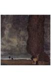 Gustav Klimt (The Large Poplar Tree II, or Coming Storm) Art Poster Print Masterprint