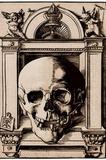 Hans Wechtlin (Skull in a Renaissance context) Art Poster Print Masterprint