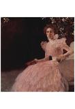 Gustav Klimt (Portrait of Sonja Knips) Art Poster Print Posters