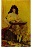 Henri Regnault (Salomé) Art Poster Print Photo