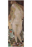 Gustav Klimt (Adam and Eve) Art Poster Print Print