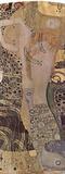 Gustav Klimt (Watersnakes) Art Poster Print Masterprint