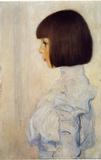 Gustav Klimt (Portrait of Helene Klimt) Art Poster Print Masterprint
