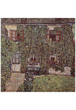Gustav Klimt (The House of Guardaboschi) Art Poster Print Posters