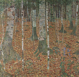 Gustav Klimt (Beech Trees) Art Poster Print Masterprint