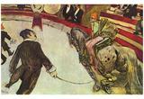 Henri de Toulouse-Lautrec (Au cirque Fernando, l'Ecuyer (The rider in the circus arts Fernando)) - Reprodüksiyon