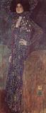 Gustav Klimt (Portrait of Emilie Floge) Art Poster Print Masterprint