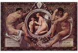 Gustav Klimt (Idylle) Art Poster Print Prints