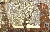 Gustav Klimt (The Tree of Life) Art Poster Print Masterprint