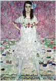Gustav Klimt (Portrait of Eugenia (Maeda) Primavesi) Art Poster Print Prints