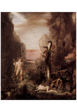 Gustave Moreau (Hercules and the Hydra Lenäische) Art Poster Print Print