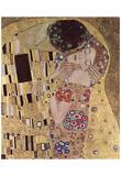 Gustav Klimt (The Kiss, Le Baiser, Detail) Art Poster Print Posters