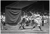 Babe Ruth Batting Practice Archival Photo Poster Print Print